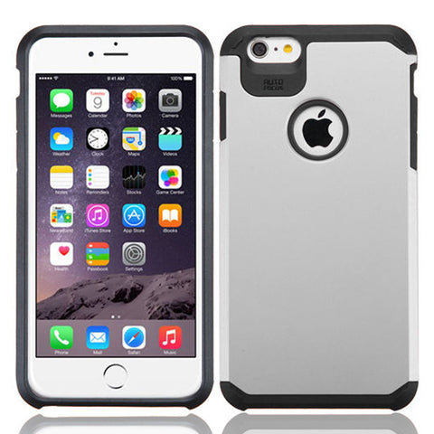 IPhone 6 / 6S Plus TPU Slim Rugged Hard Case Cover White