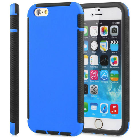 IPhone 6 / 6S Plus Dust Dirt Shock Proof Full Body Case Cover Blue