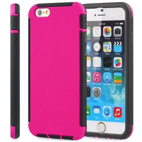 IPhone 6 / 6S Plus Dust Dirt Shock Proof Full Body Case Cover Pink