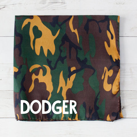 Camouflage Personalized Pet Bandana - 2 Colors