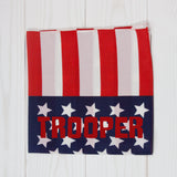 Stars & Stripes Personalized Pet Bandana