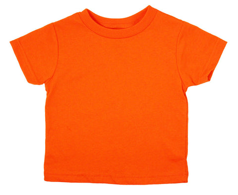 Unisex Infant Colorful Short Sleeve T-Shirts