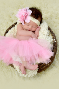 Light Pink & Ivory Tutu Set - Tutu & Headband