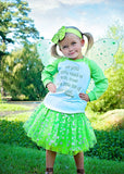 All You Need...Pixie Dust Raglan T-Shirt, Sparkle Tutu, Headband