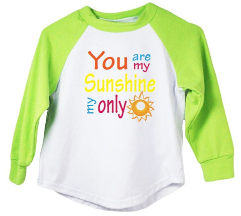 You Are My Sunshine My Only (Sunshine) Raglan T-Shirt