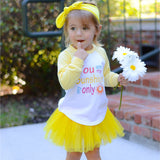 You Are My Sunshine… Raglan T-Shirt, Tutu, Headband