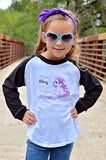 Boots & Bling It's A Cowgirl Thing! Raglan T-Shirt