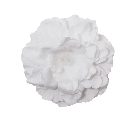 Silk Peony Flower Embellishment - No Center