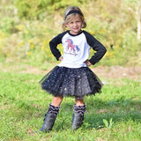 Cute n' Country Raglan T-Shirt, Sparkle Tutu, Headband Set