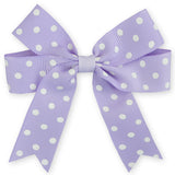 "4x5"" Polka Dot Ribbon Grosgrain Hair Bow"