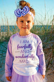I Am Fearfully And Wonderfully Made Raglan T-Shirt