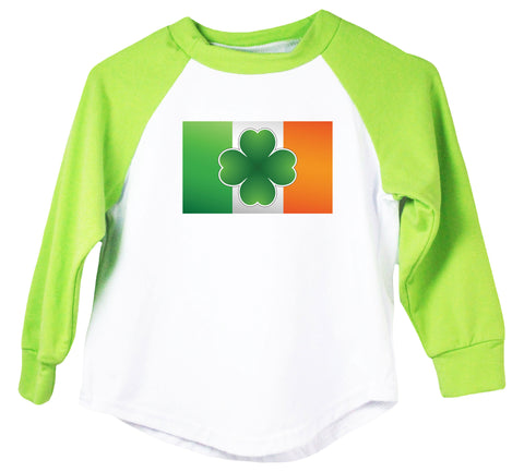 Irish Flag Raglan T-Shirt