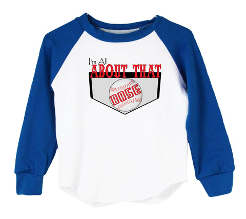 I'm All About That Base Raglan T-Shirt