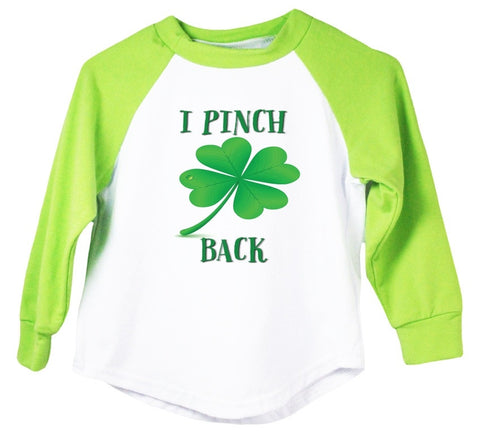 I Pinch Back Raglan T-Shirt