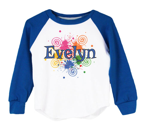 Graffiti (Personalized) Raglan T-Shirt