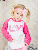 Love Raglan T-Shirt