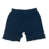 Ruffle Bottom Icing Boutique Shorts - 13 Color Options