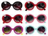 Round Rimmed Girls Sunglasses - Multiple Colors