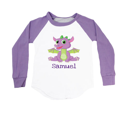 Dragon (Personalized) Raglan T-Shirt