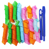 Multicolor Hair Curlers - Short Hair