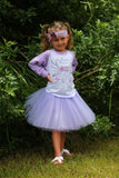 Kindergarten Princess With Antlers T-Shirt, Tutu, Headband Set