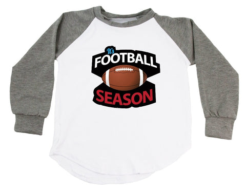 It's Football Season Raglan T-Shirt