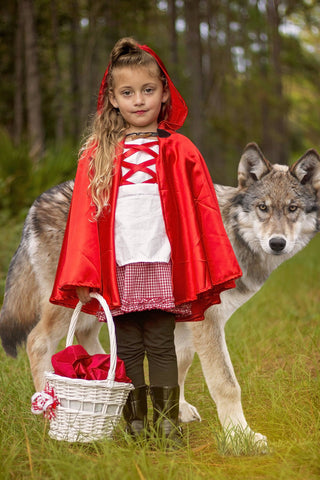 Little Red Riding Hood Dress (Cape Optional)