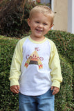 Chevron Teepee - Personalized Raglan T-Shirt