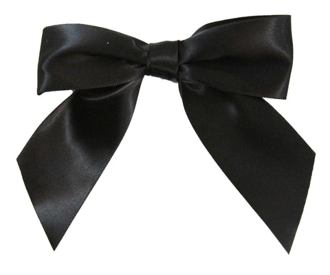 "4.5"" Satin Bow / Hair Clip"