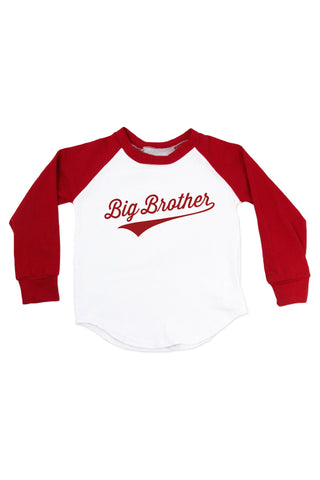 Big Brother - Personalized Name & Number Raglan T-Shirt