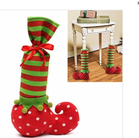 Holiday Elf Chair Leg Covers