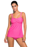 2 Piece Swing Tankini Swimsuit
