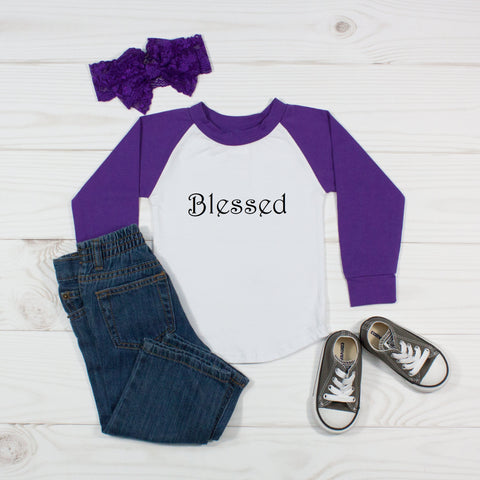Blessed - Raglan T-Shirt