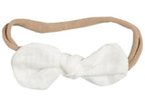 Fabric Bow Knot Tie Headbands