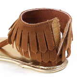 Girls Summer Fringe Sandals