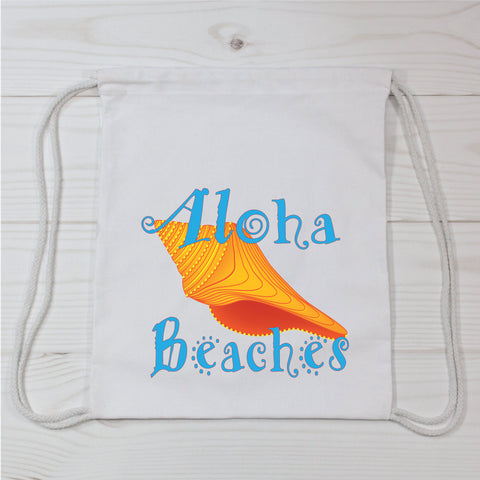 Aloha Beaches Canvas Bag