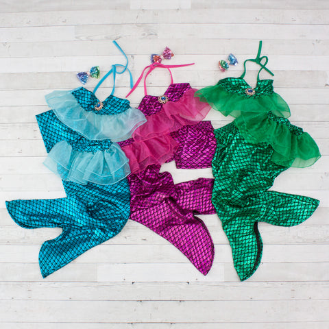 Mermaid Swim & Play Swimsuits