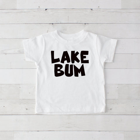 Lake Bum Graphic T-Shirt