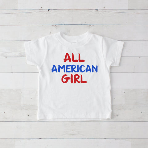 All American Girl Graphic T-Shirt