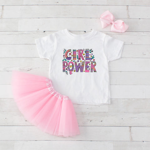 Tribal Girl Power - 3pc Shirt and Tutu Set