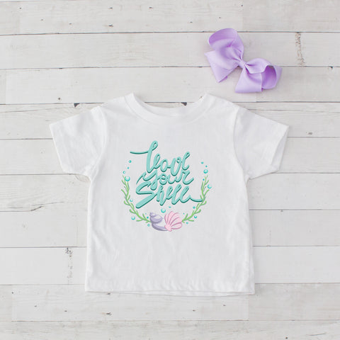Love Your Shell Graphic T-Shirt