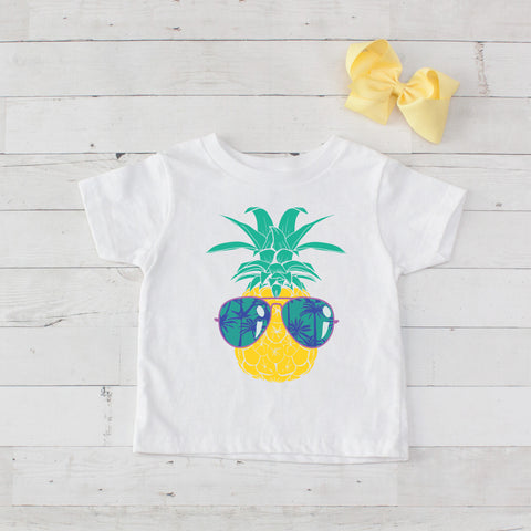 Cool Pineapple Graphic T-Shirt
