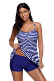 Striped Tankini & Short Set