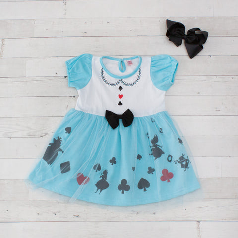 Girls Character Inspired Dresses - Alice in Wonderland