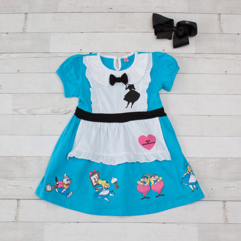 Girls Character Inspired Dress - Alice in Wonderland