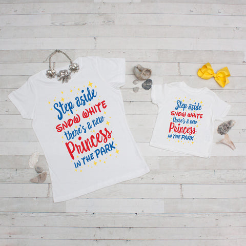 Mommy & Me Tee Set - Step Aside Snow White