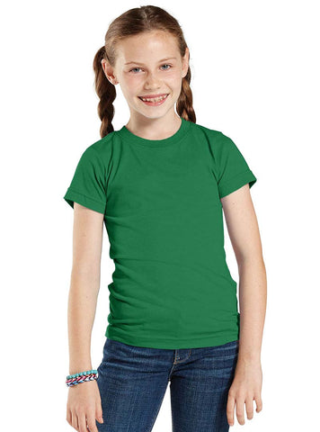 Girls Vintage Short Sleeve T-Shirt