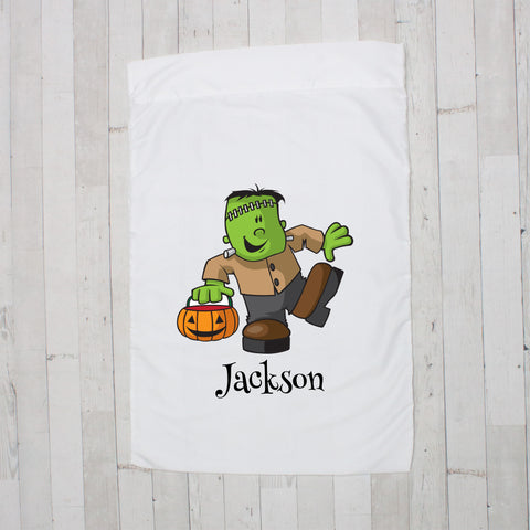 Frankenstein Personalized Pillowcase