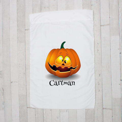 Silly Jack O' Lantern Personalized Pillowcase