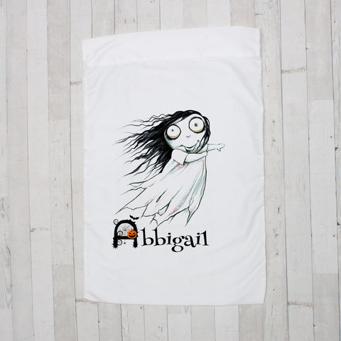 Ghost Zombie Girl Personalized Pillowcase